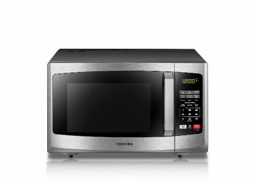 Toshiba Stainless Steel Microwave Perspective: front
