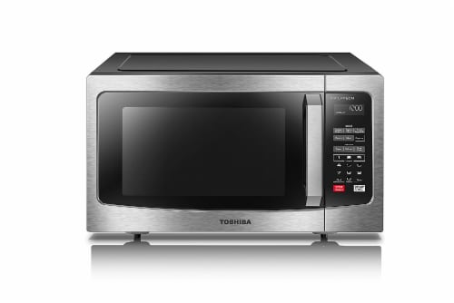 Toshiba Inverter Technology Microwave - Stainless Steel Perspective: front