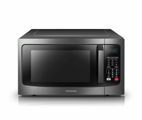 Toshiba Stainless Steel Convection Microwave Perspective: front
