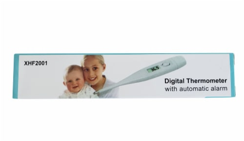 XHF2001 Digital Thermometer with Automatic Alarm Perspective: front