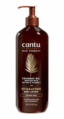 Cantu Coconut Oil  Hydrating Body Lotion Perspective: front