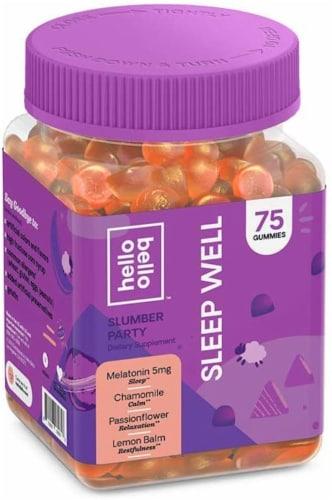 Hello Bello Melatonin and Botanicals Sleep Gummies Perspective: front