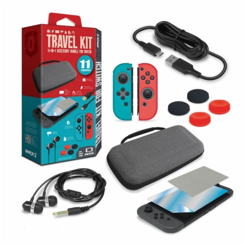 Hyperkin Armor 3 Nintendo Switch Travel Kit Perspective: front