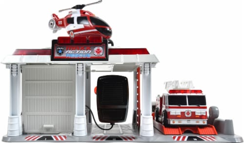 Sunny Days Maxx Action Mini Vehicle Rescue Playset Perspective: front
