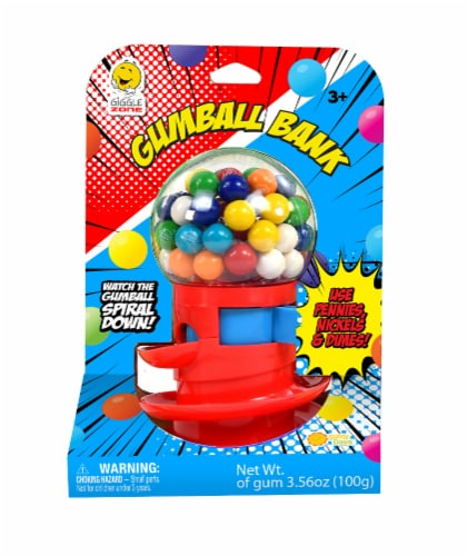 Giggle Zone Gumball Bank Perspective: front