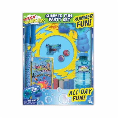 Maxx Bubbles Summer Fun Party Set Perspective: front