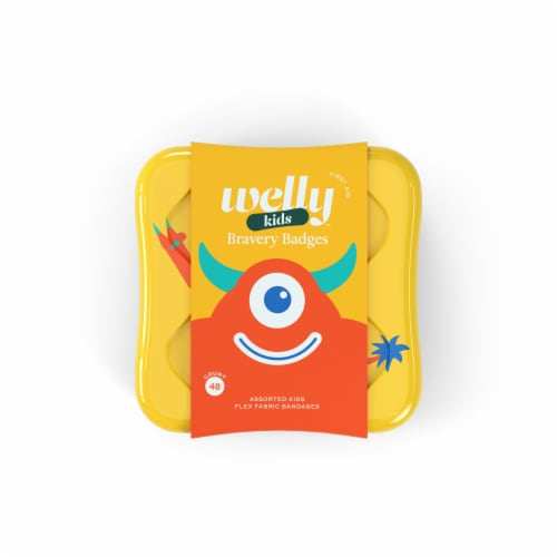 Welly Bravery Badges Flex Faric Bandages Perspective: front