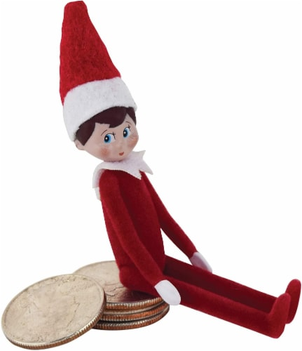 World's Smallest Elf on a Shelf Doll Perspective: front