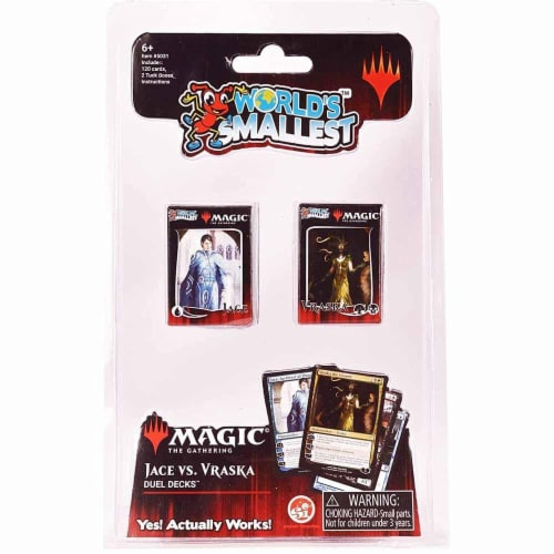 Super Impulse World's Smallest Magic the Gathering Duel Deck Card Game Perspective: front