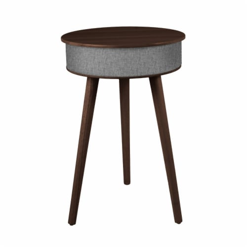 Wireless Round Speaker Table Perspective: front