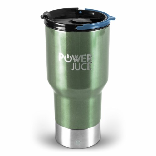 Portable Tumbler With Power Bank Perspective: front