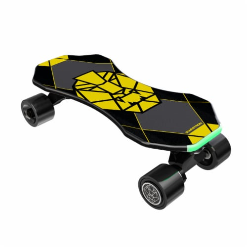 Swagtron NG3 Electric Skateboard Perspective: front