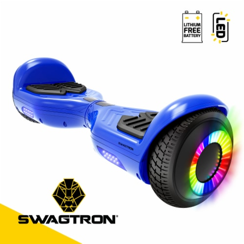 Swagtron Swagboard Twist Remix Kids LED Hoverboard Perspective: front