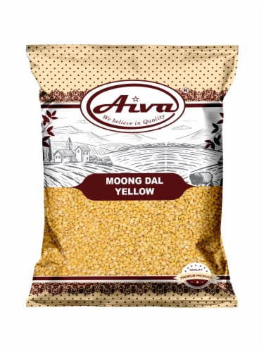 Moong Dal (Green Mung Bean Split and Washed) Perspective: front