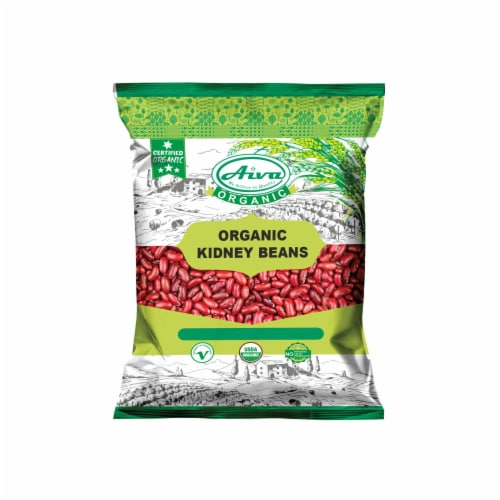 Organic Red Kidney beans- Usda Certified Perspective: front