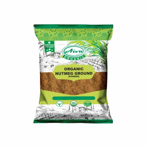 Organic Nutmeg Powder Perspective: front