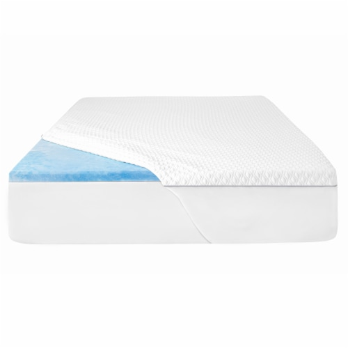 Sealy 2-Inch CoolGel Topper Perspective: front