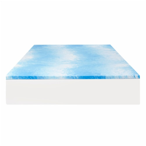 Sealy 1.5-Inch CoolGel Topper Perspective: front