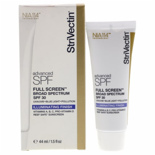 Full Screen SPF 30 - Illuminating Finish by Strivectin for Unisex - 1.5 oz Sunscreen Perspective: front