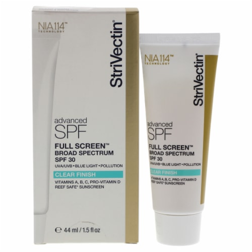 Full Screen SPF 30 - Clear Finish by Strivectin for Unisex - 1.5 oz Sunscreen Perspective: front