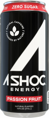 Adrenaline Shoc Shoc Wave Smart Energy Drink Perspective: front