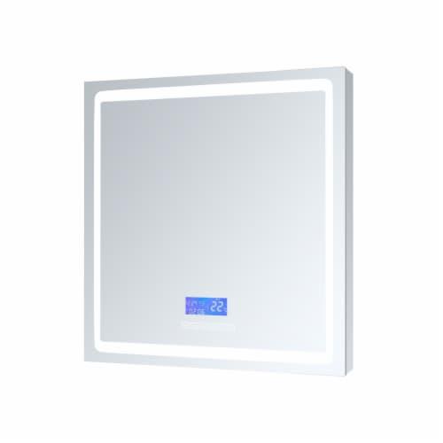 "Bracciano 30"" Wide x 32"" Tall LED Medicine Cabinet w/ Defogger Perspective: front"