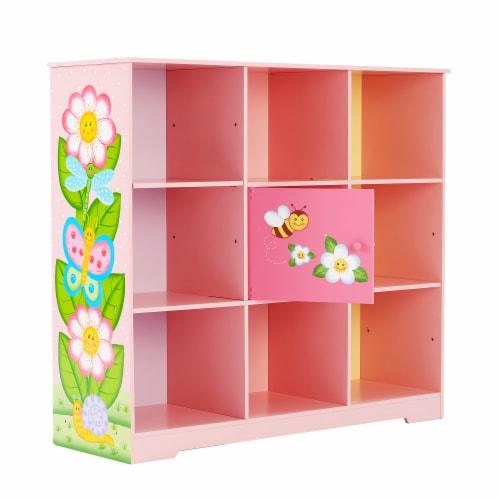 Fantasy Fields Magic Garden Adjustable Cube Bookshelf TD-13210B Perspective: front