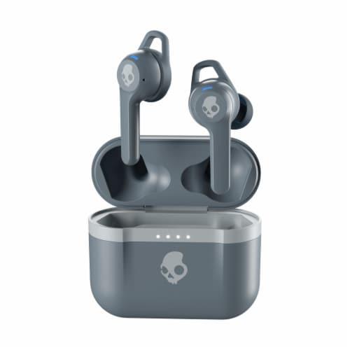 Skullcandy Wireless Headphones - Gray Perspective: front