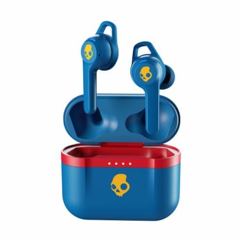 Skullcandy Indy Evo True Wireless Earbuds - Blue Perspective: front