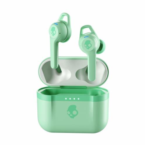 Skullcandy Wireless Headphones - Mint Perspective: front