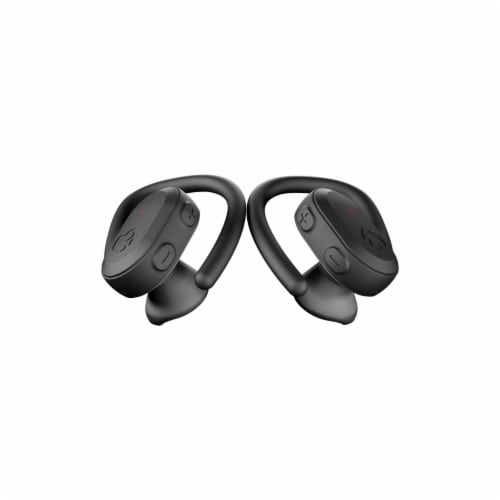 Skullcandy Push Ultra Wireless Earbuds - Black Perspective: front