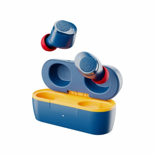 Skullcandy Totally Wireless Essential Jib True Wireless Earbuds - Blue Perspective: front