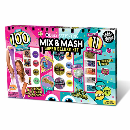 Compound Kings Mix & Mash Super Deluxe Toy Set Perspective: front