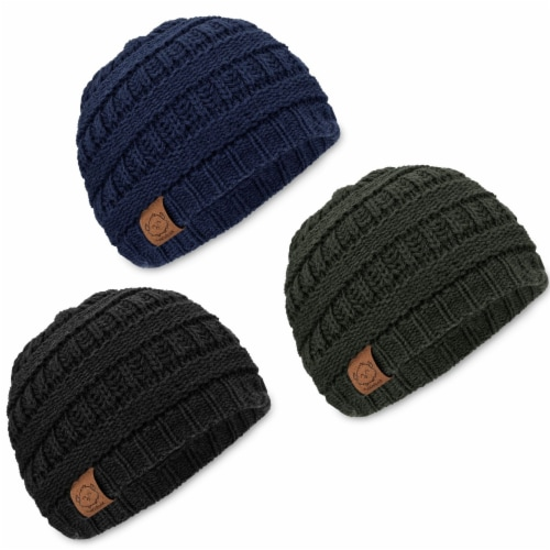 3-Pack Warmzy Baby Beanies (Urban) Perspective: front