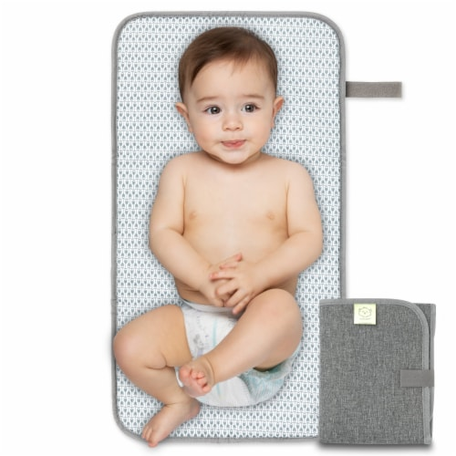 Swift Diaper Changing Pad (Classic Gray) Perspective: front