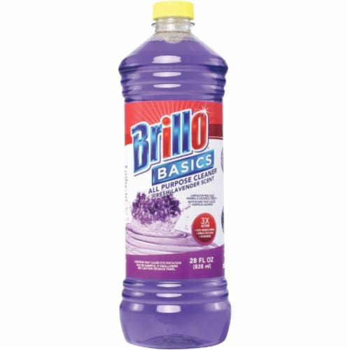Brillo Basics 28OZ LAV ALL PURP CLEANR 83702 Pack of 12 Perspective: front