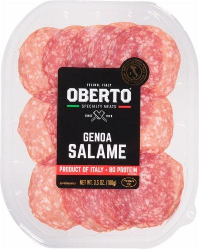 Oberto Genoa Salame Perspective: front