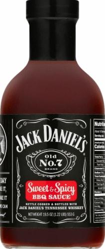 Jack Daniel's Old No. 7 Sweet & Spicy BBQ Sauce Perspective: front