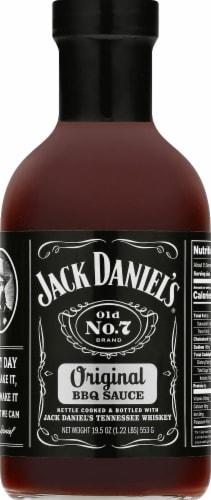 Jack Daniel's Old No. 7 Original BBQ Sauce Perspective: front