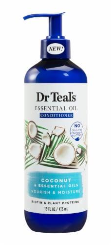 Dr Teal's Coconut Nourish & Moisture Shampoo Perspective: front