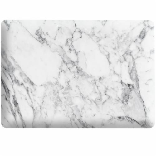 iBenzer Laptop Computer Case for MacBook Air - White Marble Perspective: front