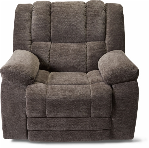 Sitswell Breslin Glider Recliner - Gray Perspective: front