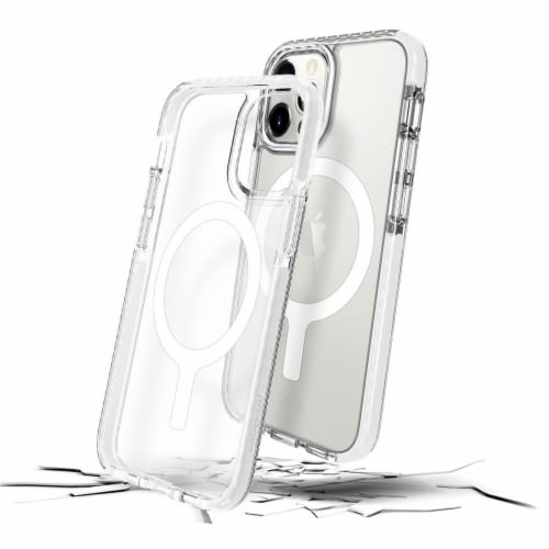 Prodigee iPhone 12 Magnetic Cell Phone Case - White Perspective: front