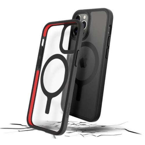 Prodigee iPhone 12 Magneteek Cell Phone Case - Black Perspective: front