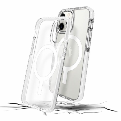 Prodigee iPhone 12 Pro Max Magneteek Cell Phone Case - White Perspective: front