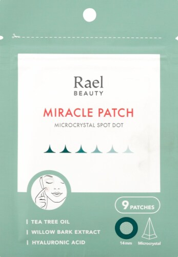 Rael Beauty Microcrystal Spot Dot Miracle Patch Perspective: front