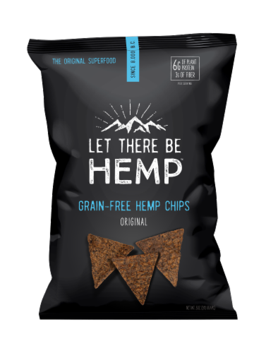 Let There Be Hemp™ Original Grain-Free Hemp Chips Perspective: front