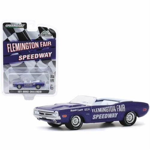 Greenlight 30146 1971 Dodge Challenger Convertible official Pace Car Purple Flemington Fair S Perspective: front