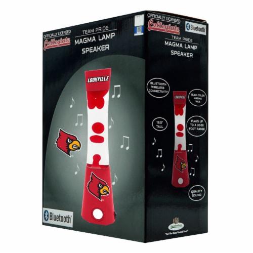 Louisville Cardinals Team Pride Magma Lamp Speaker Perspective: front