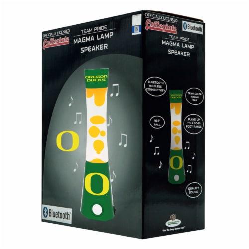 Oregon Ducks Team Pride Magma Lamp Speaker Perspective: front